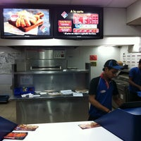 Photo taken at Domino's Pizza by Muneeb I. on 9/24/2011