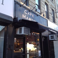 Photo taken at Café Martin by Chris A. on 11/18/2011