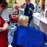 Photo taken at Kids Hair by Lynn L. on 1/26/2012