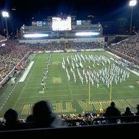 Photo taken at Bobby Dodd Stadium by Reid C. on 10/30/2011