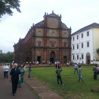 Photo taken at Basilica of Bom Jesus by Tharma S. on 8/25/2012