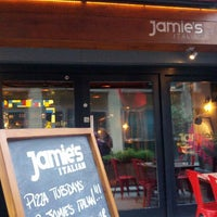 Photo taken at Jamie's Italian by Nils R. on 7/17/2012