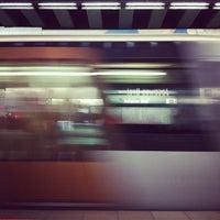 Photo taken at Metro Jacques Brel by Kris H. on 7/11/2012