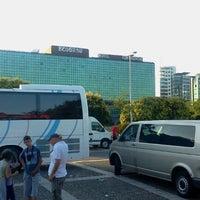 Photo taken at Parking Sava centra by Zoran. K. on 7/18/2012