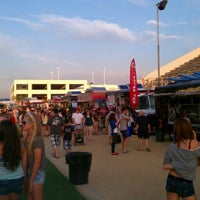 Photo taken at Fullerton Food Truck Round-Up! by Joseph R. on 8/27/2011