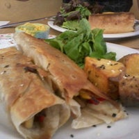 Photo taken at Almíbar Café + Delicias by Belén C. on 1/27/2012