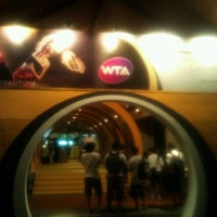 Photo taken at Sony Tennis Hotspot by Adhitia T. on 11/4/2011