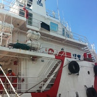Photo taken at Vos Hermes @ Sattahip Port by Pativej C. on 11/29/2011