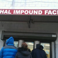 Photo taken at Marshall Impound Facility by Nadine L. on 1/6/2012