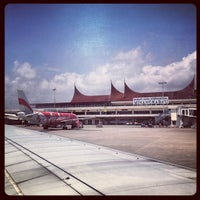 Photo taken at Minangkabau International Airport (PDG) by melissa w. on 9/1/2012