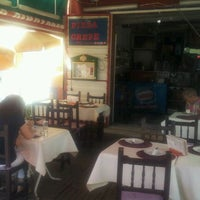 Photo taken at Pizzeria Creperia El Carajillo by Shangay L. on 9/9/2011