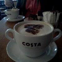 Photo taken at Costa Coffee by Marija M. on 2/22/2012