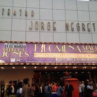 Foto tomada en Teatro Jorge Negrete por Xander B. el 4/6/2012