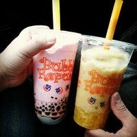 Photo taken at Bubble Republic Tea House 奶茶黨部 by Johanna S. on 5/7/2012