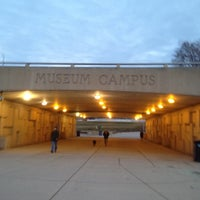Photo taken at Museum Campus by William F. on 2/4/2012