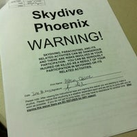 Photo taken at Skydive Arizona by Allison D. on 6/16/2012