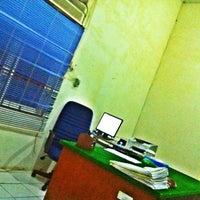 Photo taken at Ruang Kerja Manager Pln Ranting Muntok by Muthia G. on 3/17/2012