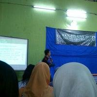 Photo taken at SMA NEGERI 2 KLATEN by Yuzztiia R. on 9/2/2012