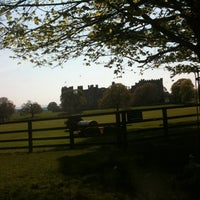 Photo taken at Raby Castle by Sarah S. on 5/22/2012