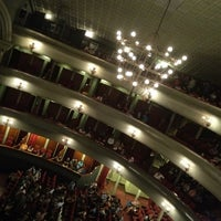 Photo taken at Teatro Popular Melico Salazar by Esteban S. on 5/14/2012