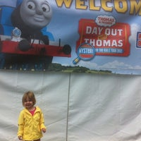 Photo taken at Thomas The Train Ride by Phil M. on 9/8/2012