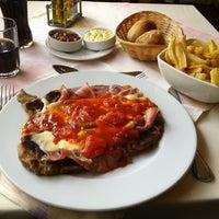 Photo taken at Restaurant O'Higgins by juanPablo on 6/10/2012