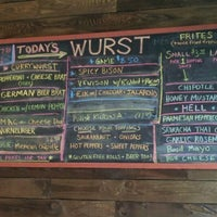 Photo taken at The Wurst Place by Michael M. on 5/18/2012