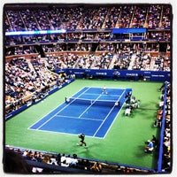 Foto tomada en Arthur Ashe Stadium - USTA Billie Jean King National Tennis Center  por Zach K. el 8/29/2012