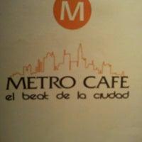 Foto tomada en Metro Café por Gerardo P. el 6/15/2012