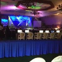 Photo taken at Centennial Hall (Manila Hotel) by Rachelle V. on 5/24/2012