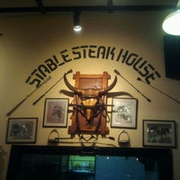 Photo taken at Stable Steak House by Yusdi Y. on 4/1/2012