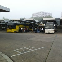 Photo taken at Central Coach Station Berlin by Dennis L. on 8/17/2012