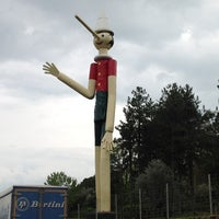 Photo taken at Parco di Pinocchio by Piero P. on 4/16/2012