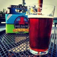 Photo taken at Lake Placid Pub & Brewery by Dan Z. on 9/2/2012