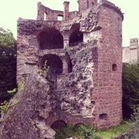 Photo taken at Heidelberger Schloss by Tom B. on 7/14/2012