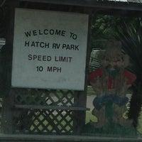 Photo taken at Hatch RV Park by Kim K. on 6/4/2012