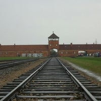 Photo taken at Auschwitz-Birkenau Museum by Cristian U. on 4/21/2012