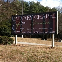 Photo taken at Calvary Chapel Greensboro by Melinda S. on 2/2/2012