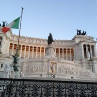 Photo taken at Altare della Patria by Irene on 8/28/2012