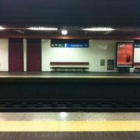 Photo taken at Metro Laranjeiras [AZ] by Pedro F. on 6/6/2012