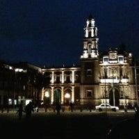 Photo taken at Plaza de Santo Domingo by Alan G. on 8/19/2012