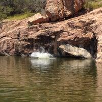 Photo taken at Devils Waterhole by allen p. on 6/5/2012
