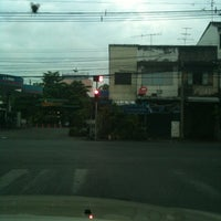 Photo taken at Sam Yaek Phichai Junction by Mana T. on 3/9/2012
