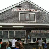 Photo taken at Mac's Seafood Wellfleet Pier by Charles B. on 7/7/2012