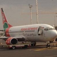 Photo taken at Jomo Kenyatta International Airport (NBO) by Francis on 9/3/2012