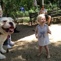 Photo taken at Union Square Dog Run by Rick H. on 5/20/2012