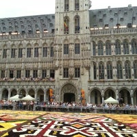 Photo taken at Brussels Town Hall by Pedro H. on 8/15/2012