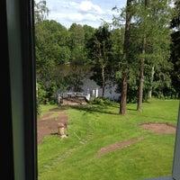 Photo taken at Villa Helleranta by Mikko on 7/17/2012