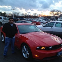 Photo taken at Arlington Heights Ford by Dorene S. on 2/21/2012
