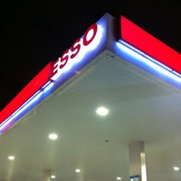 Photo taken at Esso Station by ジャッキー タ. on 3/9/2012